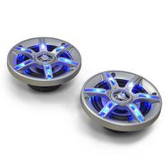 auna CS-LED5 13cm-Auto-Lautsprecher 600W max. Lichteffekt: Zum vergrößern Bild anklicken!
