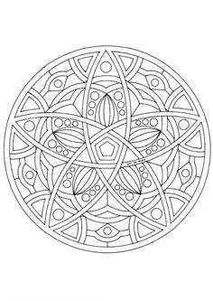 Mandala Coloring pages | FREE coloring pages | #53 -