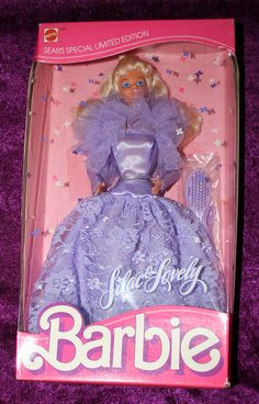 Lilac & Lovely Barbie (1987)