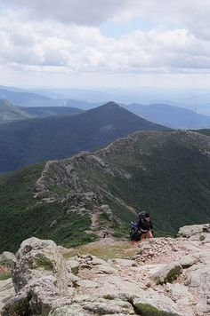 The Ridge. New Hampshire- White Mountains. Done this hike many | http://bestscenicviews.blogspot.com