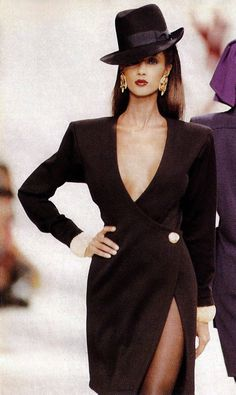 Vintage Yves Saint Laurent - Iman More