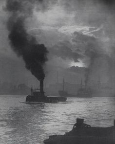 The Thames at #Deptford at high tide..London's Deptford Dockyard, was the first of the 'Royal Dockyards'..Mid 16th to late 19th century..Photographer/date unknown..
