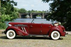 1935 Auburn 851 Super-Charged Sport Pheaton