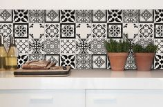Tile Decals Tiles for Kitchen/Bathroom Back splash Floor Kitchen Tiles, Kitchen Flooring, Kitchen Design, Floor Decal, Floor Stickers, Beautiful Stairs, Tile Decals, Peel And Stick Tile, Adhesive Tiles