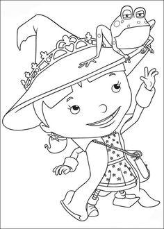 Mike de Ridder Kleurplaten voor kinderen. Kleurplaat en afdrukken tekenen nº 17