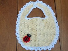 Crocheted Baby Bibs by SnuggleWonders on Etsy, $20.00