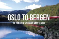The train from Oslo to Bergen offers stunning, dramatic scenery & travels at altitudes higher than any other route in Europe. This is one amazing train ride! http://www.raileurope.com/blog/11474-oslo-to-bergen-by-train