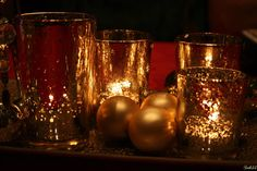 Tealight gold by Suki33