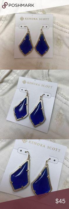 Kendra Scott Alex royal blue earrings NWT Kendra Scott Alex royal blue earrings NWT Kendra Scott Jewelry Earrings