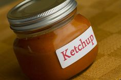 Make a better ketchup with your tomatoes this year! Homemade Fresh Tomato Ketchup - recipe & video.  Only uses a bit of raw honey to sweeten.