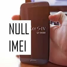 """i9500 IMEI """"NULL/NULL solution"""