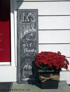Get creative with your porch for fall. I can't wait to try some of these awesome…
