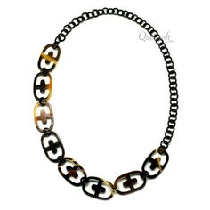 QueCraft Horn Chain Necklace - Q12162
