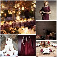 wedding table settings with navy and blush accents - Google Search