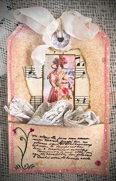 Tag Art ~ Elegant Lady Blythe by Christine LeFever