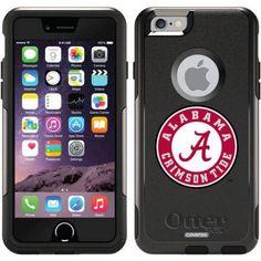 Alabama Crimson Tide Design on OtterBox Commuter Series Case for Apple iPhone 6