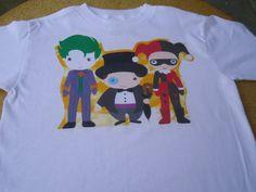 Batman Villains Tshirt by FineStitchChildrenSt on Etsy, $14.99