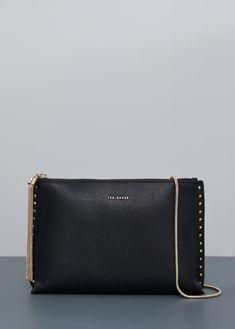 Evening Bags, Clutch Bag, Zip Around Wallet, Chain, Black, Women, Black People, Women's, Clutch Bags