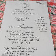 """Cena rustica da Maria """"la Zozza"""" #trenette #pesto #menu #food #genovese"""