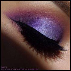 Purple smokey  @ glam_trash_mua