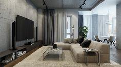 Modern apartment in Kyiv on Behance