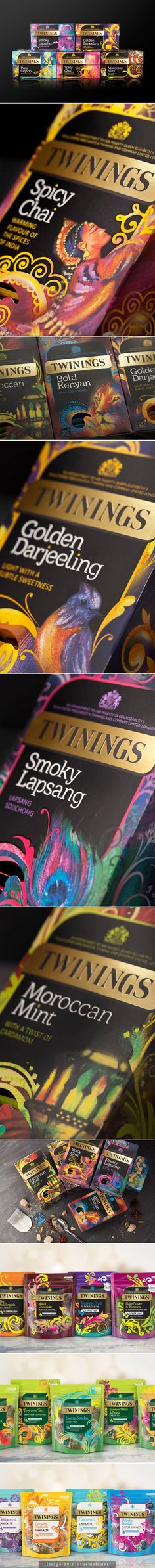 Twinings Origins #packaging by BrandOpus - http://www.packagingoftheworld.com/2014/11/twinings-origins.html