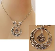 Silver Celtic Knot Pendant Necklace Jewelry Handmade NEW Fashion Accessories… http://www.ebay.com/itm/Silver-Celtic-Knot-Pendant-Necklace-Jewelry-Handmade-NEW-Fashion-Accessories-/152210955147?ssPageName=STRK:MESE:IT