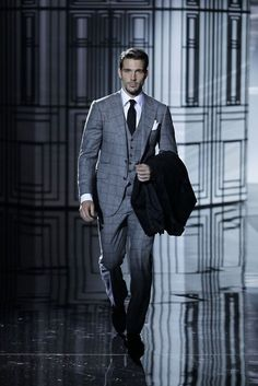 Not Your Average Gentleman Mens Tailored Suits, Mens Suits, Suit Men, Three Piece Suit, 3 Piece Suits, Dapper Gentleman, Gentleman Style, Men's Tuxedo Styles, Suit Combinations