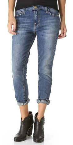 Current/Elliott is one my favorite denim brands right now. I love these slouchy stiletto jeans.