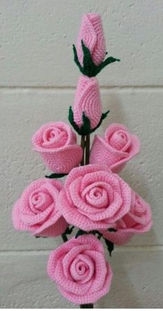 Gorgeous crochet roses: diagram