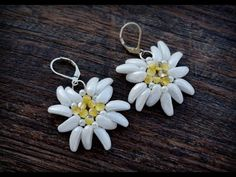 Chilli™ Edelweiss Earrings Tutorial.