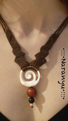 PIRATE MARMADE shell & seeds //// Tribal ethnic artwork от NARANYU, €40.00