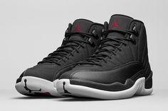 "Air Jordan 12 Retro ""Black Nylon"" Release Date & Official Pics - EU Kicks: Sneaker Magazine"