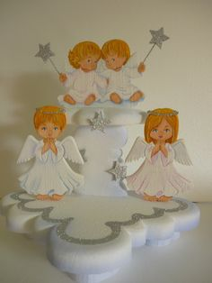Light Goes Decorating: primera comunion Character Cupcakes, Baby Shower, Communion, Christening, Event Planning, Maya, Party Time, Alice, Presents