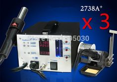 703.88$  Watch here - http://ali8i2.worldwells.pw/go.php?t=2031136491 - 3PCS/Lot ESD Safe 2738A 110V / 220V  Lead Free Soldering Station Repairing System Repair Rework Station 703.88$
