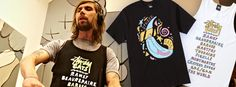 Stussy x Ed banger records| cool cats series