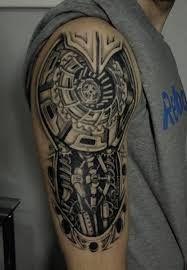 Znalezione obrazy dla zapytania tatuaze meskie prawe ramie wzory