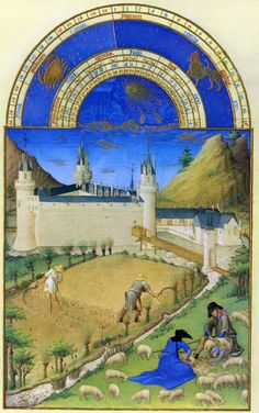 Limbourg Brothers Tres Riches Heures | Seven Whole Days | Daily Office Anchor Society