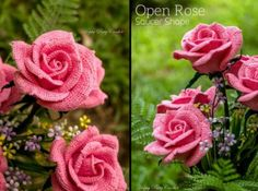 Crochet Rose pattern by Happy Patty Crochet // An Open Rose of the Hybrid Tea family – very lush and attractive. Ideal for decorations and elegant appliques. Crochet Flower Patterns, Crochet Flowers, Rose Patterns, Beautiful Roses Bouquet, Rose Bouquet, Romantic Gifts For Her, Open Rose, Crochet Diagram, Rose Petals