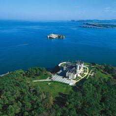 Palacio de la Magdalena en #Santander #Cantabria #Costa #Coast #Spain