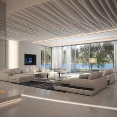 3d model scene realistic modern - Luxury Interior Scene... by ignasius