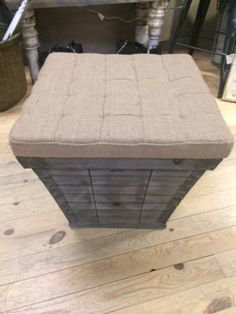 New storage ottomans have arrived at Massie Creek LLC located in Nisswa,MN www.massiecreek.com