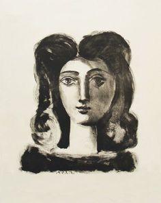 Picasso Tête de Jeune Fille (1947)