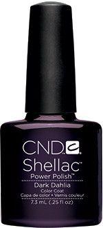 CND - Shellac Dark Dahlia (0.25 oz)