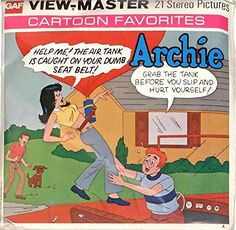 Archie Cartoon, Archie Comic Books, Archie Comics, Weird Toys, Betty And Veronica, View Master, Cartoon Characters, Fictional Characters, Classic Toys