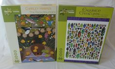 2 Pomegranate Art Puzzles by Charley Harper & Christopher Marley 100% Complete Christopher Marley, Pomegranate Art, Charley Harper, Puzzle Art, Rocky Mountains, Puzzles, Baseball Cards, Amp, Ebay