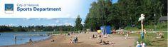 Public beaches in Helsinki