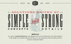 35 Beautiful Textured Web Designs - DesignM.ag