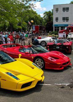 Ferrari Enzo, F50 And P4/5 · Car GarageDream ...