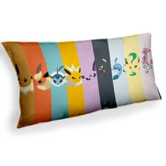 Pokemon Eevee Evolution Espeon Umbreon - Custom Geek Fabric Cushion Pillow cover Home Decor Thrown Pillow With Inner by theuniquegeekie on Etsy https://www.etsy.com/listing/262698412/pokemon-eevee-evolution-espeon-umbreon